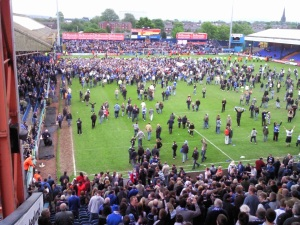 Stockport County Fans Edgeley Park