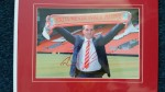 Signed Brendan Rogers Picture Liverpool